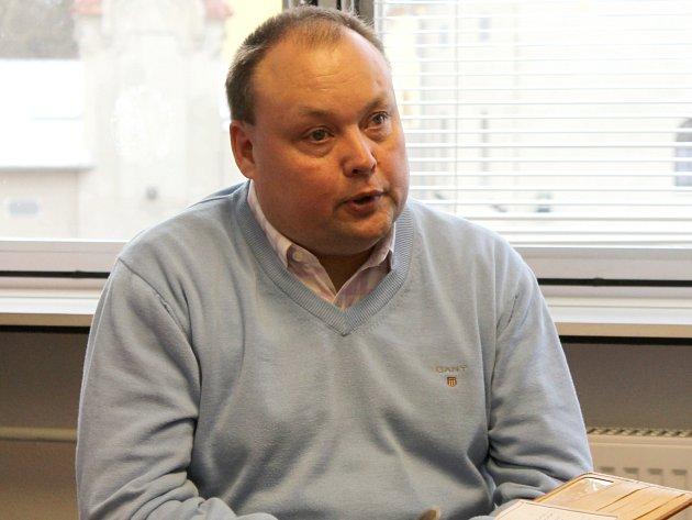 Ředitel městské příspěvkové organizace TEREZA Dymo Piškula.