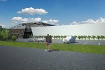 Nové výrobní sídlo začalo stavět mikulovské Vinařství Volařík. Obří hala je spojená s moderním designovým prvkem, jež celé stavbě dodává na unikátnosti. Z horní terasy nabídne jako bonus krásné výhledy na dominanty Mikulova.
