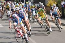 Hlohovec se stal v sobotu centrem silniční cyklistiky.