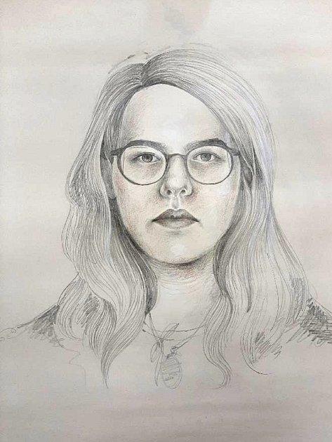 Autoportrét.