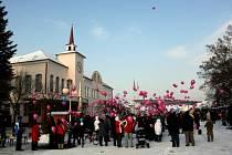 Na Ppavlovickém jarmarku vypustí balonky s přáním Ježíškovi