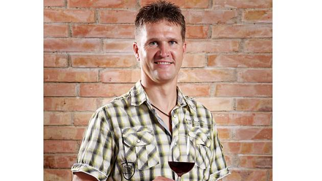 Vrbický vinař Leoš Horák.