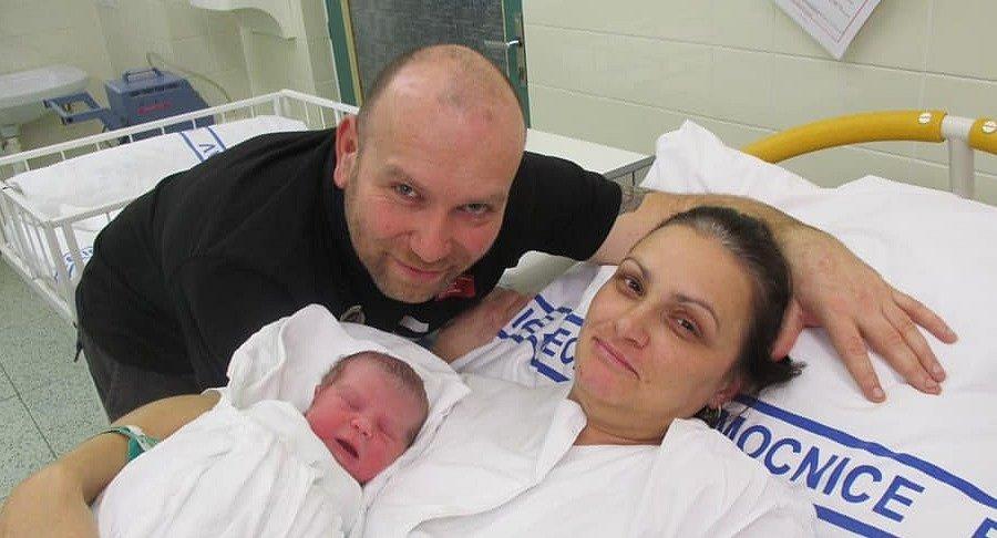 Prvním miminkem na jihu Moravy je Rozálie. Narodila se v břeclavské nemocnici
