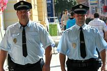 Strážníci městské policie Břeclav.