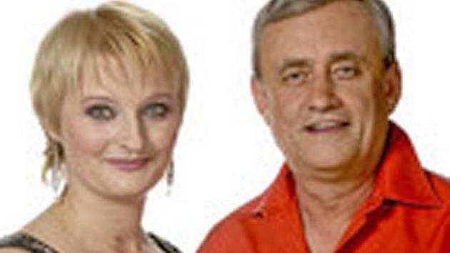 Lada Kománkova a Richard Tesařík