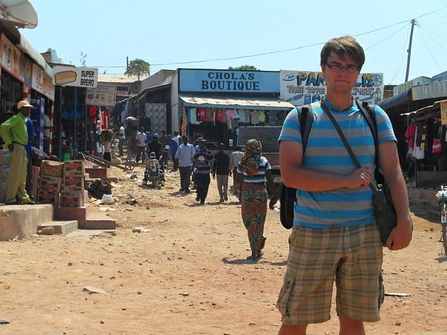 Zdeněk Gloz pomáhal s dobrovolníky v africké Zambii.