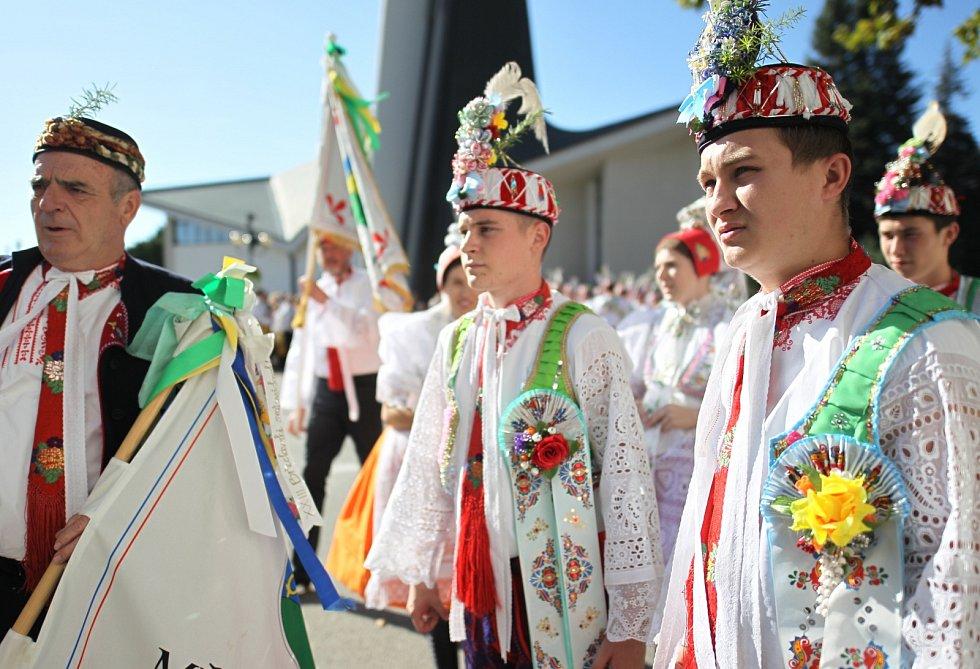 Břeclavské slavnosti přivítaly Patejdla i zahraniční folkloristy