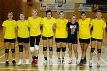 Břeclavská sestava prvoligových volejbalistek pro sezonu 2012/2013.