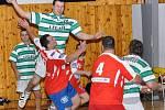 Legata skončila sice ve vánočním turnaji až třetí, ostudu však s dvěma extraligovými týmy neudělala.