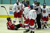 Zápas Česko vs. Kanada v Břeclavi.