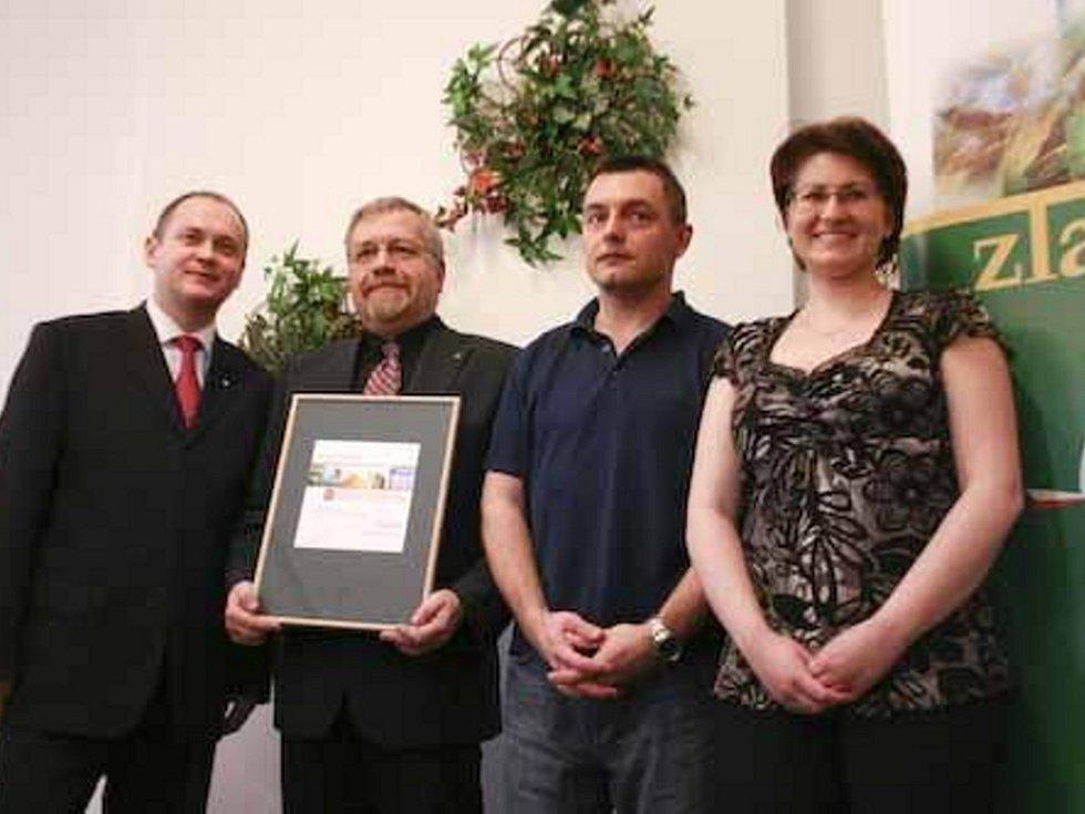 Druhé místo v krajském kole soutěže Zlatý erb získal Mikulov.