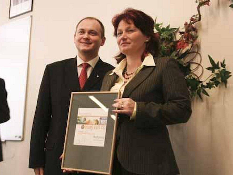 Třetí místo v krajském kole soutěže Zlatý erb získaly Bučovice.