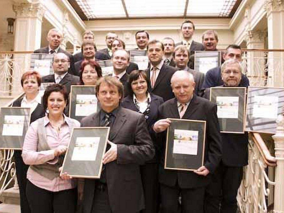 Finalisté soutěže Zlatý erb.