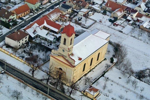 Kostel sv. Jana Křtitele vBřezí