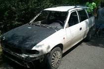 Strážníci narazili na kraji Břeclavi na řidiče auta, které bylo v katastrofálním stavu. Bylo beze světel, směrovek, skel, nárazníků a dalších částí.