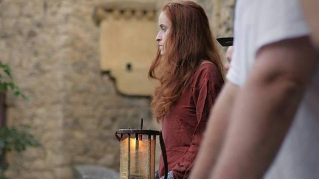 Velká část filmu Pláč svatého Šebestiána se natáčela také v Lednicko-valtickém areálu. Fotky jsou z Janova hradu a Lednice.