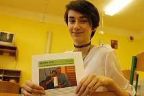 Školní časopis v Lanžhotě vede jako šéfredaktor tamní učitel Petr Vlasák.