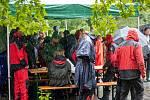 Jihomoravská brigáda Svazu záchranných brigád kynologů ČR pořádala v Břeclavi Pohár plemen.