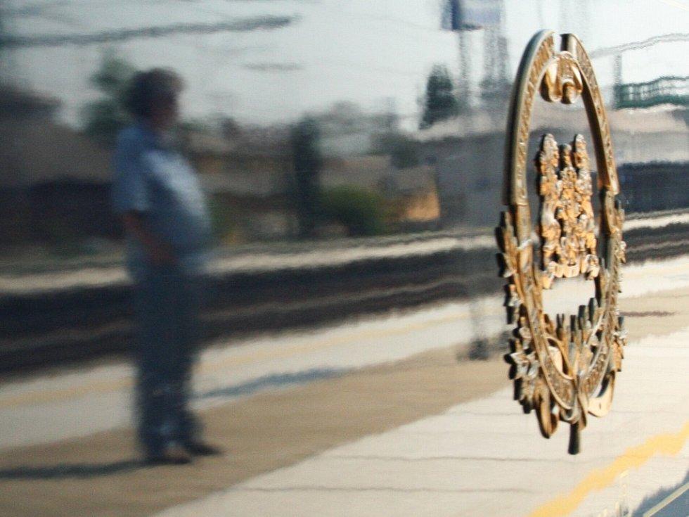 Do Břeclavi přijel Orient-Express.