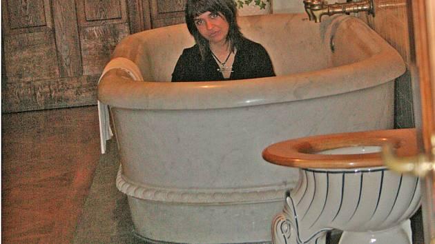 koupelna v lednickém zámku