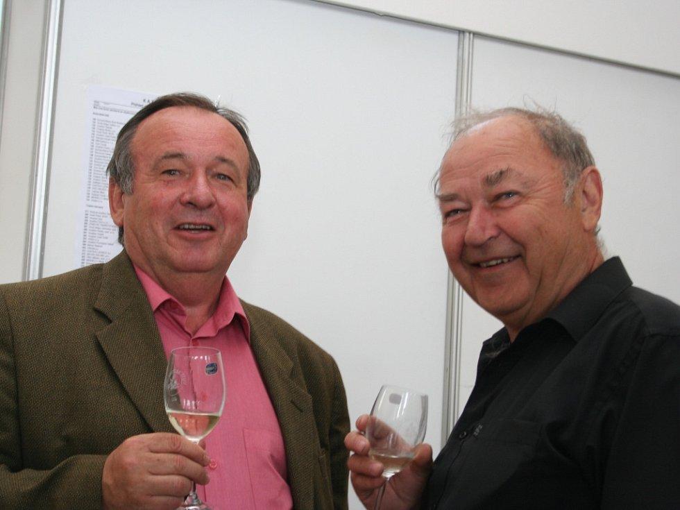 V novodobé historii už pětačtyřicátý ročník nejstarší výstavy vín v českých zemích, s první písemnou zmínkou z roku 1858, začal ve Valticích. Letos se chlubí rekordním počtem 984 vzorků.