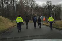 Čtyři nelegální běžence objevili celníci v polích u Lanžhota.