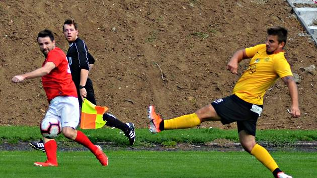 Fotbalisty Krumvíře čeká domácí souboj s Boskovicemi.
