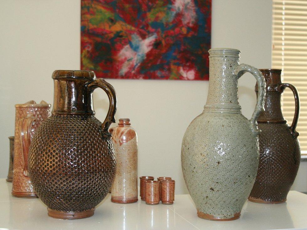 Stanislav Schneider z Valtic si splnil svůj sen a v důchodě si otevřel vlastní galerii.