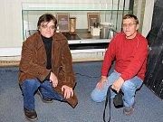Václav Kocourek (vpravo) se dostal se svými Járovkami až do Národního muzea v Praze.