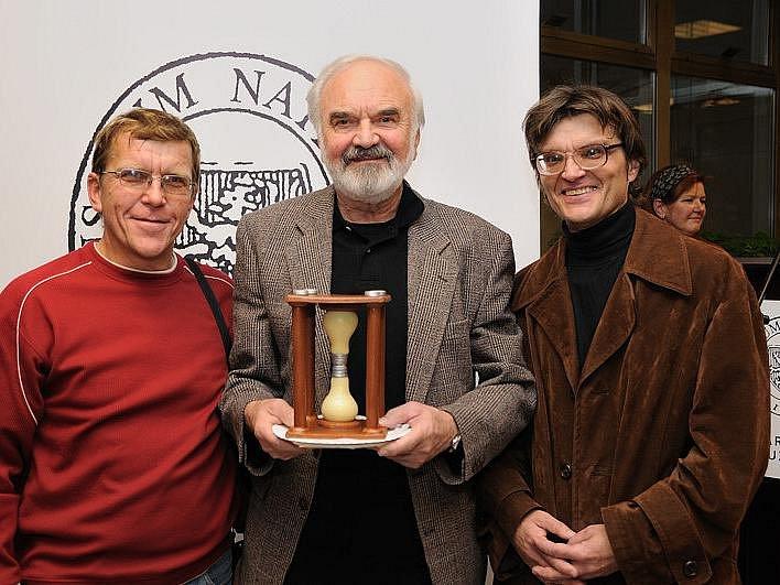 Václav Kocourek (vlevo) se dostal se svými Járovkami až do Národního muzea v Praze