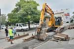 V Břeclavi odstartovala první etapa opravy kanalizace v centru.