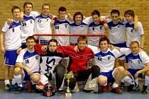 Mužský A-tým Šitbořice hraje druhou ligu.