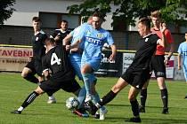 Fotbalisté MSK Břeclav remizovali v přátelském klání s Ratíškovicemi 2:2.