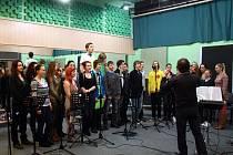 Polyfonia nahrávala své nové album i s rockovou kapelou.