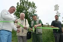 Otevření nových turistických tras v Chráněné krajinné oblasti Pálava.