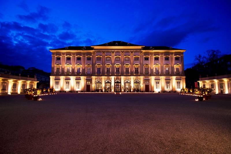 Zahradní palác ve Vídni, kde odstartuje další ročník Lednicko-valtického hudebního festivalu.