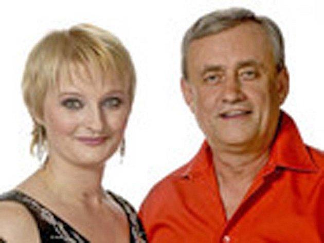 Lada Kománková a Richard Tesařík