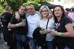 Slavnosti břeclavského piva 2017. Lidé si užili hudební vystoupení, prohlídku pivovaru a zámecké věže či na ochutnávku piv z minipivovarů.
