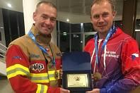 Jihomoravští hasiči se účastnili Mistrovství Evropy ve Firefighter Combat Challenge ve Slovinsku