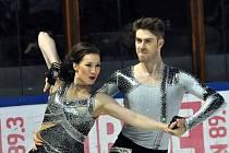 Český taneční pár Myslivečková-Brown.
