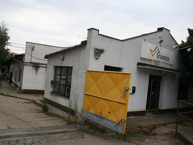 Bývalé sídlo Tranzy v Břeclavi.