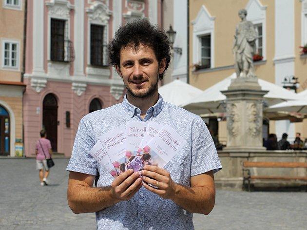Ředitel městské společnosti Mikulovská rozvojová David Gerneš. Jeho tým organizuje Pálavské vinobraní.