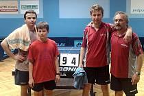 Stolní tenisté MSK vyhráli okresní přebor a bojují o postup do krajské soutěže.