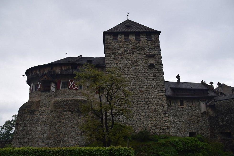 Hrad Vaduz, sídlo lichtenštejnských knížat