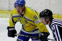 Břeclavští hokejisté podlehli Nymburku 1:6.