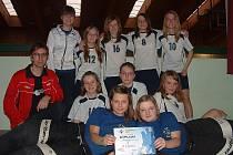 Úspěšný tým florbalistek Šitbořic se probojoval až do celostátního finále Orion florbal cupu.