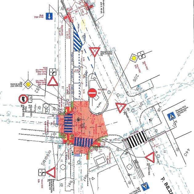 Na změnu přednosti vjízdě ichodce a jednosměrky si budou od ledna zvykat řidiči ve Valticích na Modřínové ulici.
