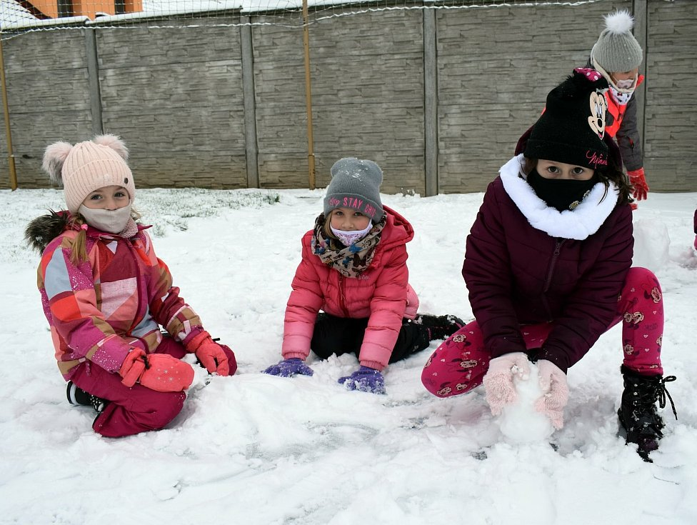 Po školních aktivitách se dětem doma už stýskalo. A také po kamarádech. FOTO:Archiv školy