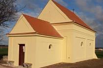 Kaple svatého Cyrila a Metoděje v Nejdku u Lednice.