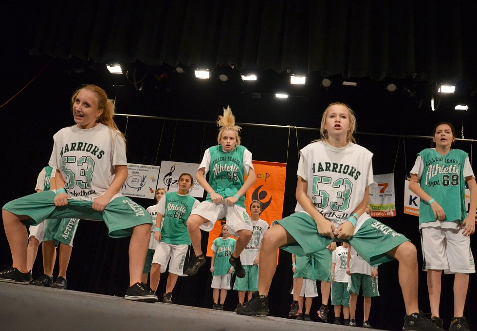 Na Slovensku si břeclavské taneční skupiny E.M.Dancers a N.C.O.D. vytancovaly sedm pohárů.